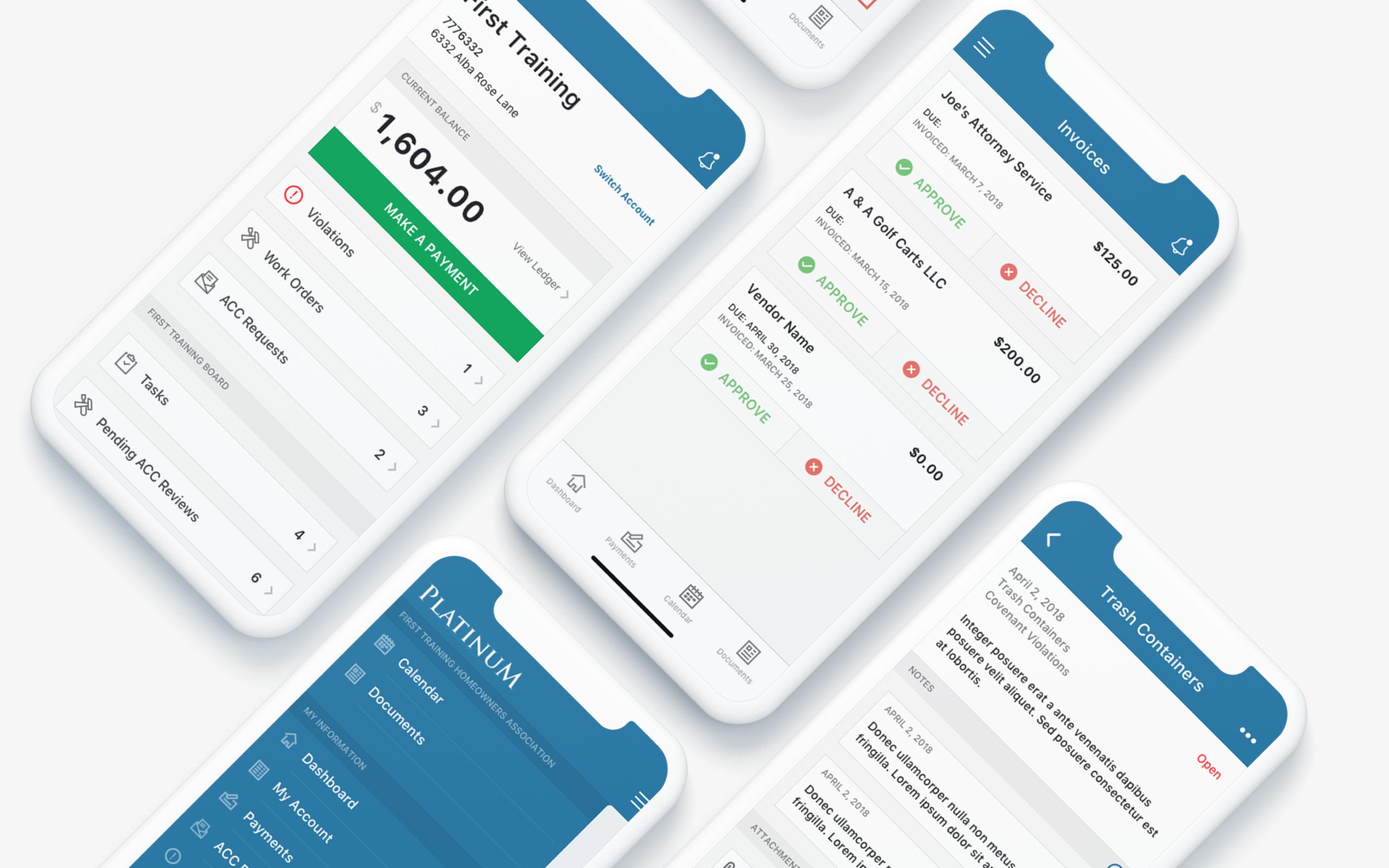 CINC Mobile HOA App